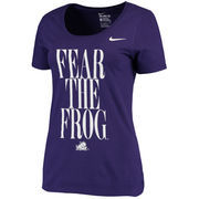 Women's Nike Purple TCU Horned Frogs Team Spirit T-Shirt