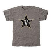 Vanderbilt Commodores Classic Primary Tri-Blend T-Shirt - Ash