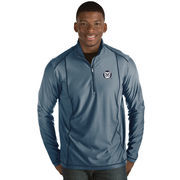 Men's Antigua Navy Butler Bulldogs Tempo 1/2-Zip Desert Dry Pullover Jacket