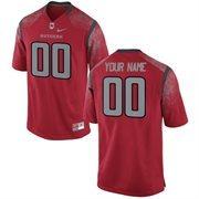 Nike Mens Rutgers Scarlet Knights Custom Replica Football Jersey - Red