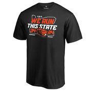 Men's Fanatics Branded Black Oregon State Beavers vs. Oregon Ducks 2016 Score T-Shirt