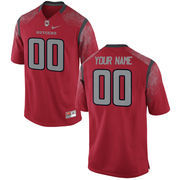 Nike Mens Rutgers Scarlet Knights Custom Replica Football Jersey - Red