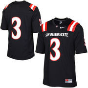 San Diego State Aztecs Nike Game Replica Football Jersey - Black