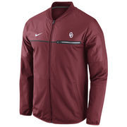 Men's Nike Crimson Oklahoma Sooners 2016 Sideline Elite Hybrid Performance Jacket