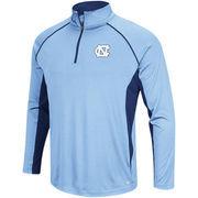 Men's Colosseum Carolina Blue North Carolina Tar Heels Big & Tall Air Stream Quarter-Zip Pullover Jacket
