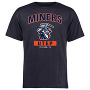 Men's Navy UTEP Miners Campus Icon T-Shirt