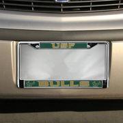 South Florida Bulls Chrome License Plate Frame