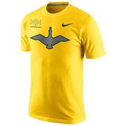 Men's Nike Yellow Oregon Ducks Oregon 33 Game Day T-Shirt