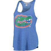 Women's chicka-d Royal Florida Gators Primary Logo Spirit Tank Top
