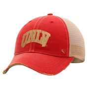 UNLV Rebels Emblem Adjustable Hat - Red