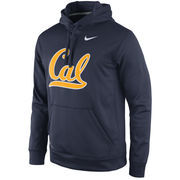Men's Nike Navy Cal Bears Practice Performance Hoodie