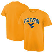 West Virginia Mountaineers Gold Campus T-Shirt