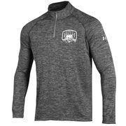 Men's Under Armour Heather Gray Ohio Bobcats Quarter-Zip Performance Jacket