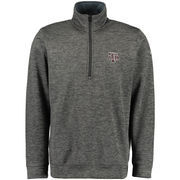 Men's adidas Gray Texas A&M Aggies Tech 1/4-Zip climawarm Jacket