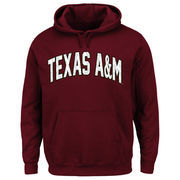 Men's Majestic Maroon Texas A&M Aggies No Penalty Pullover Hoodie