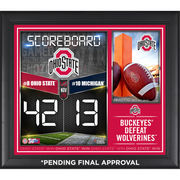 Ohio State Buckeyes Framed 2015 Win Over Michigan Wolverines 15