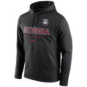 Men's Nike Black Georgia Bulldogs Circuit Therma-FIT Performance Hoodie