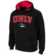 Men's Stadium Athletic Black UNLV Rebels Arch & Logo Pullover Hoodie