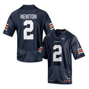 Youth Under Armour Cam Newton Navy Auburn Tigers Replica Jersey