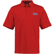 Mens Ole Miss Rebels Cutter & Buck Cardinal DryTec Championship Polo