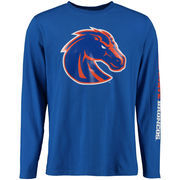Men's Royal Boise State Broncos Eastwood Long Sleeve T-Shirt
