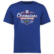 Men's Royal Florida Gators 2016 SEC Women's Tennis Champions T-Shirt