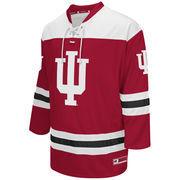 Men's Colosseum Crimson Indiana Hoosiers Hockey Jersey