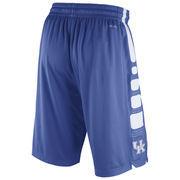 Men's Nike Royal Kentucky Wildcats Practice Elite Stripe Performance Shorts