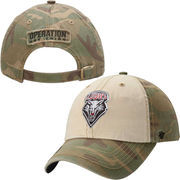 Mens New Mexico Lobos '47 Brand Camo Operation Hat Trick Gordie Adjustable Hat