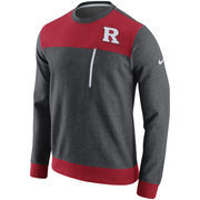 Men's Nike Charcoal Rutgers Scarlet Knights AV15 Fleece Sweatshirt