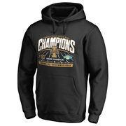Men's Fanatics Branded Black Idaho Vandals 2016 Idaho Potato Bowl Champions Pullover Hoodie