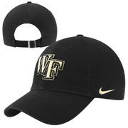 Nike Wake Forest Demon Deacons 3D Tailback Performance Adjustable Hat - Black