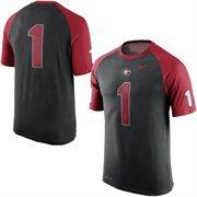 Men's Nike Black Georgia Bulldogs New Day No. 1 Performance T-Shirt