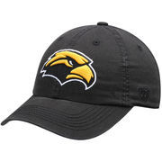 Men's Top of the World Black Southern Miss Golden Eagles Solid Crew Adjustable Hat  -