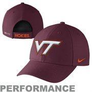 Virginia Tech Hokies Nike Performance Dri-FIT Classic Adjustable Hat - Maroon