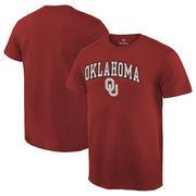 Men's Crimson Oklahoma Sooners Campus T-Shirt