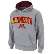 Men's Stadium Athletic Gray Minnesota Golden Gophers Arch & Logo Pullover Hoodie
