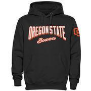 Oregon State Beavers Sender Pullover Hoodie - Black