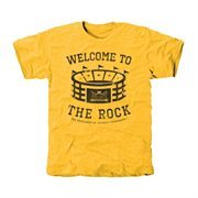Southern Miss Golden Eagles Stadium Tri-Blend T-Shirt - Gold