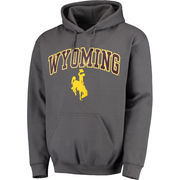 Men's Fanatics Branded Charcoal Wyoming Cowboys Campus Pullover Hoodie