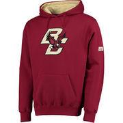 Men's Stadium Athletic Maroon Boston College Eagles Big Logo Pullover Hoodie