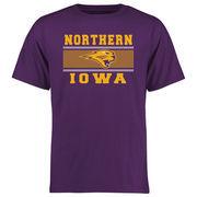 Men's Purple Northern Iowa Panthers Big & Tall Micro Mesh T-Shirt