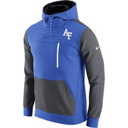 Men's Nike Royal/Charcoal Air Force Falcons AV15 Fleece Pullover Hoodie