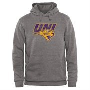 Gray Northern Iowa Panthers Classic Primary Pullover Hoodie