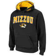Men's Stadium Athletic Black Missouri Tigers Arch & Logo Pullover Hoodie