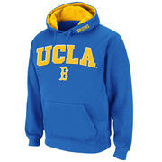 Men's Stadium Athletic True Blue UCLA Bruins Arch & Logo Pullover Hoodie