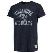 Men's Original Retro Brand Heathered Navy Villanova Wildcats Vintage Tri-Blend T-Shirt