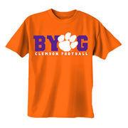 Men's Orange Clemson Tigers BYOG T-Shirt