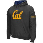 Men's Stadium Athletic Charcoal Cal Bears Big Logo Pullover Hoodie
