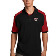 Men's Antigua Black/Red UNLV Rebels Century Polo